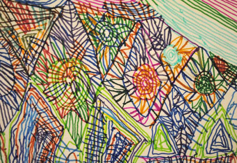 Hymie Aaronberg drawings