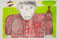 Adam Crown drawing