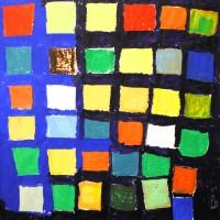 5 blue grid
