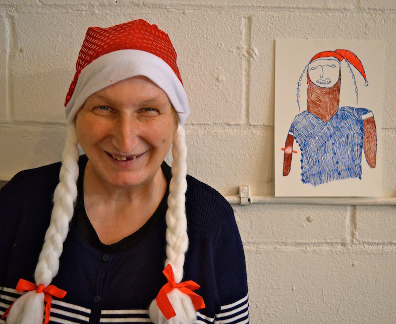Patricia Morgan portrait