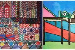 Ian Wornast and Thompson Hall artworks
