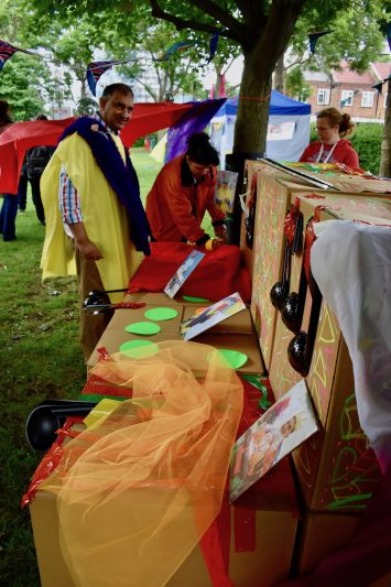 Pop-up Pardip in Heathbrook Park